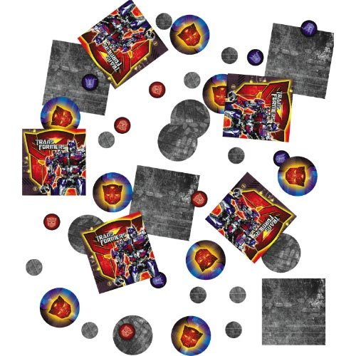 Transformers Party Supplies Favors Revenge of the Fallen Table Confetti 18.9g