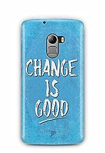 YuBingo Change is Good Designer Mobile Case Back Cover for Lenovo K4 Note