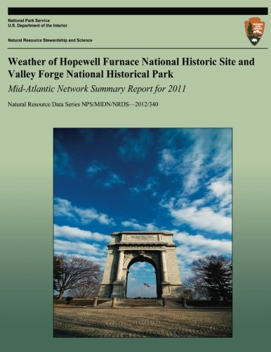 Weather of Hopewell Furnace National Historic Site and Valley Forge National Historical Park Mid-Atlantic Network Summar