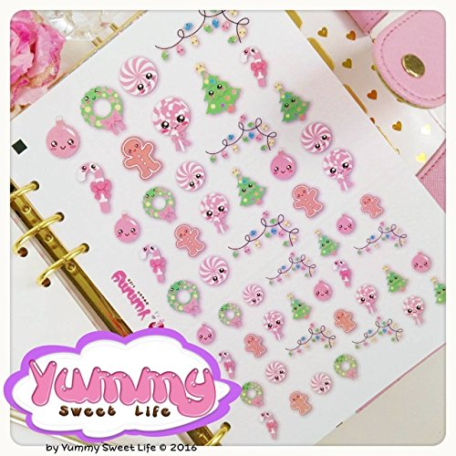 1-foglio-di-adesivi-stickers-a5-natalizi-kawaii