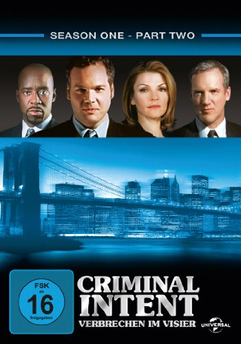 Criminal Intent - Verbrechen im Visier, Season 1.2 [3 DVDs]