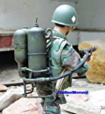 """Gun_M2FT Dragon 1:6 Scale WW2 US Army Marine USMC Infantry Flamethrower M1 M2A1 Gun Model For 1:6 Scale 12"""" Action Figure Accessories (Original from TheBestMoment @ Amazon)"""