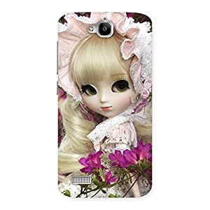 Impressive Angel Look Doll Back Case Cover for Honor Holly