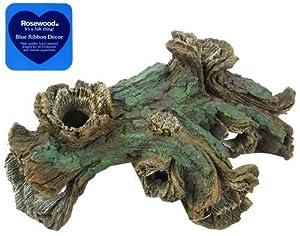 Rosewood muti hole log aquarium decor large for Aquarium log decoration