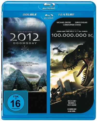 Doppel BD: 2012 Doomsday+100 Million BC [Blu-ray]
