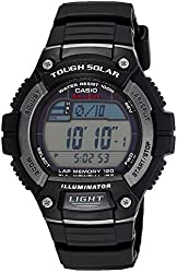 Casio Men's Solar Runner Tough Solar Multi-Function Runner Watch