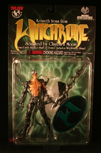 "Witchblade Kenneth Irons 6"" Action Figure Sculpted by Clayburn Moore - 1"