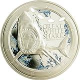 ニウエ 2012年 ホホジロザメ 2ドルカラー銀貨 プルーフ (CNES20011)