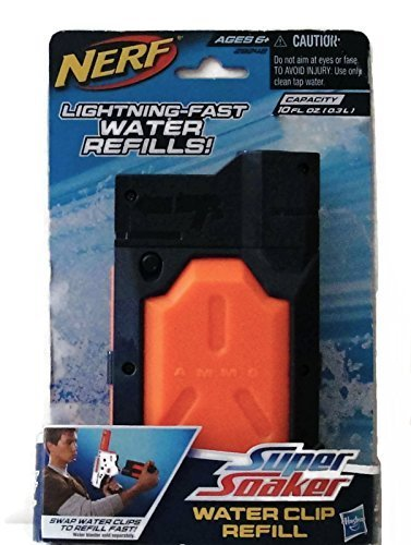 Nerf Super Soaker Water Clip Refill Pack of 2 - 1
