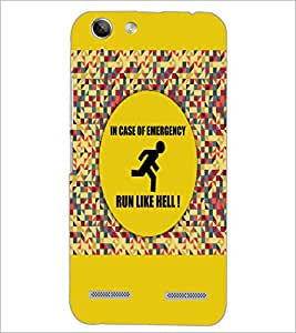 PrintDhaba Quote D-3524 Back Case Cover for LENOVO VIBE K5 PLUS (Multi-Coloured)