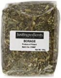 JustIngredients Borage Loose 100 g (Pack of 5)