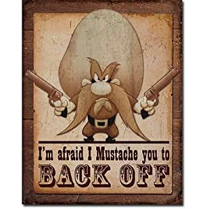Amazon.com: Yosemite Sam - Back Off Distressed Retro ...