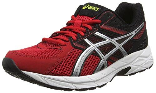 ASICS - Gel-contend 3, Zapatillas de Running Hombre, Rojo (racing Red/silver/black 2393), 42.5 EU