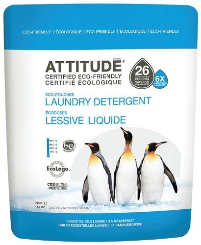 Attitude Lavender and Grapefruit Essential Oils Laundry Detergent 390 g