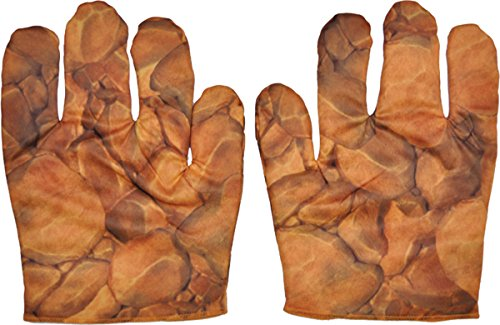 Morris Costumes The Thing Muscle Gloves Adult