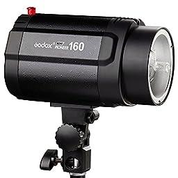 Godox Monolight 160w Pro Photography Studio Strobe Photo Head Flash Lighting