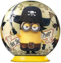 Ravensburger - Minions - 3D Puzzle-Ball (54 - Teile, Sortimentsartikel) [UK Import]