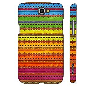 Samsung Galaxy Note 2 Rainbow Beats designer mobile hard shell case by Enthopia