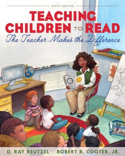 Teaching Children to Read: The Teacher Makes the...