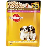 Pedigree Puppy Dog Food Chicken And Rice In Gravy, 80 G