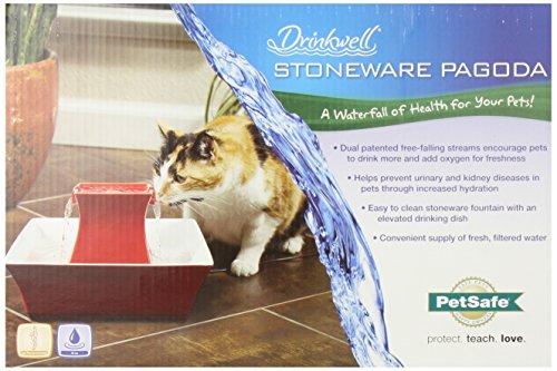 Petsafe Drinkwell Pagoda Ceramic Dog And Cat Water