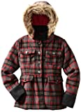 Dollhouse Big Girls'  Wool Hooded Peacoat