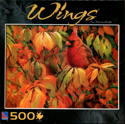 Sure-Lox: Wings Collection: Joni Johnson-Godsy - The Cardinal 500pc Puzzle