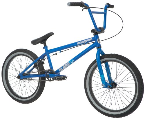 Mongoose Boy's Scan R50 Freestyle Bike,  20-Inch, Blue