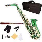 Cecilio AS-280GL Saxophone Alto MiB Vert
