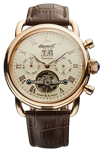 Ingersoll Orologio da unisex beige con display analogico e da IN1810CR