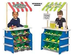 Melissa & Doug Deluxe Grocery Store / Lemonade Stand by Melissa & Doug