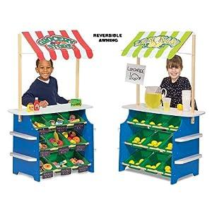 Melissa & Doug Deluxe Grocery Store / Lemonade Stand