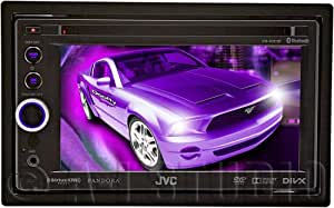 JVC KWAV61BT 6.1-Inch DVD-CD-USB Bluetooth Receiver