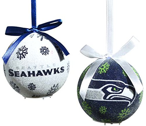 Seattle Seahawks Led Ornament Set