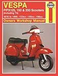 Haynes Manual 707 VESPA P/PX125;150 &...