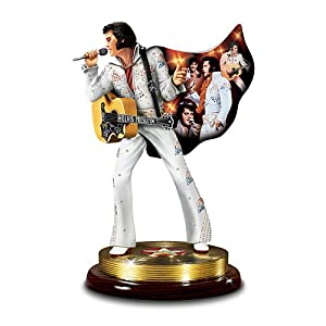 Amazon.com: Elvis Presley Tribute Figurine: The Sensation