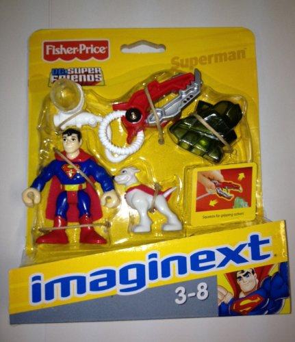Imaginext Dc Super Friends Mini Figure Superman front-111717