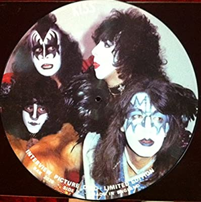 Gene Simmons KISS Interview Picture Disc
