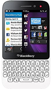 Blackberry Q5 Smartphone - on EE T-Mobile Orange Network - White