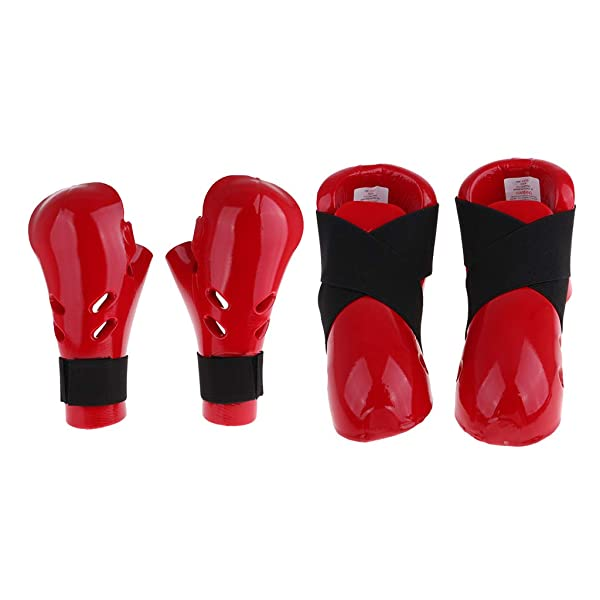 Proforce Sparring Gear Foot Pads Martial Arts Karate Taekwondo Feet Guards  Pair