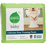 Seventh Generation Chlorine Free Training Pants, 2T-3T, (26-34 Lbs), 29 Count (Pack of 4)