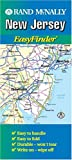 Rand McNally New Jersey Easyfinder Map (Durable) (0528988107) by Staff, Rand McNally