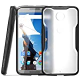 Nexus 6 Case, SUPCASE Google Nexus 6 Case [Unicorn Beetle Series] Premium Hybrid Bumper Case Cover for Motorola Nexus 6 (Frost Clear/Black)