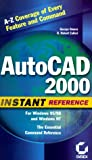img - for AutoCAD 2000 Instant Reference book / textbook / text book
