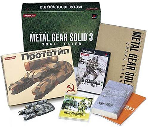 METAL GEAR SOLID 3 SNAKE EATER PREMIUM PACKAGE