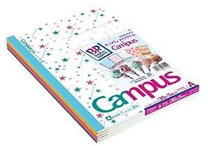 【限定柄】キャンパスノート<サーティワンコラボ>A罫5色パック