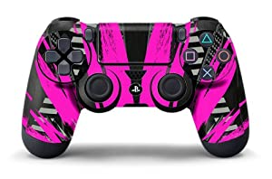 PS4 Controller Designer Skin for Sony PlayStation 4 DualShock Wireless Controller - Nuke Pink