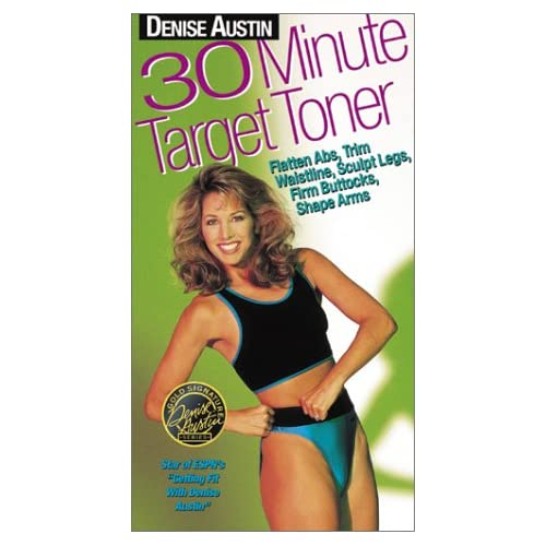 Amazon.com: Denise Austin - 30 Minute Target Toner [VHS