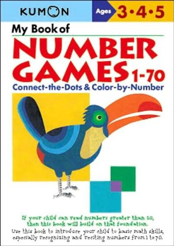 My Book of Number Games 1-70 - 1