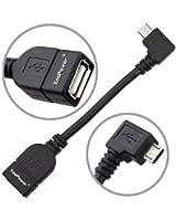 KooPower TM Micro USB OTG Câble Host Mode Data Syncro Pour Samsung Galaxy S2 Galaxy S3 / SIII GT-i9300 NEXUS 7 NEXUS 10